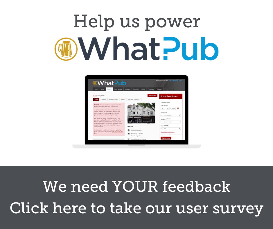 Whatpub Survey