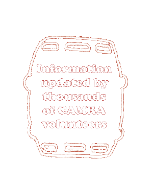 Information updated by thousands of CAMRA volunteers